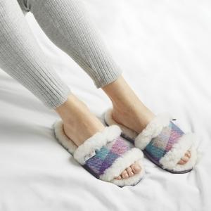 Bedroom Athletics Harris Tweed® Slipper Range - Agatha Slipper
