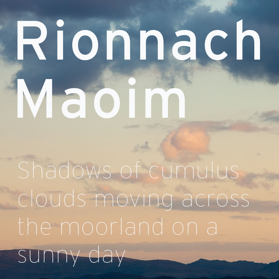 gaelic definition and sunny clouds