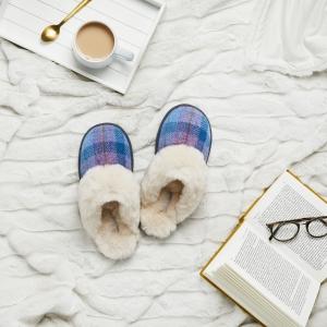 Bedroom Athletics Harris Tweed® Slipper Range - Kate Slipper
