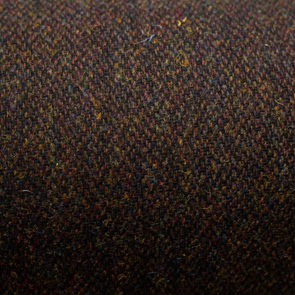 harris tweed authority brown barleycorn