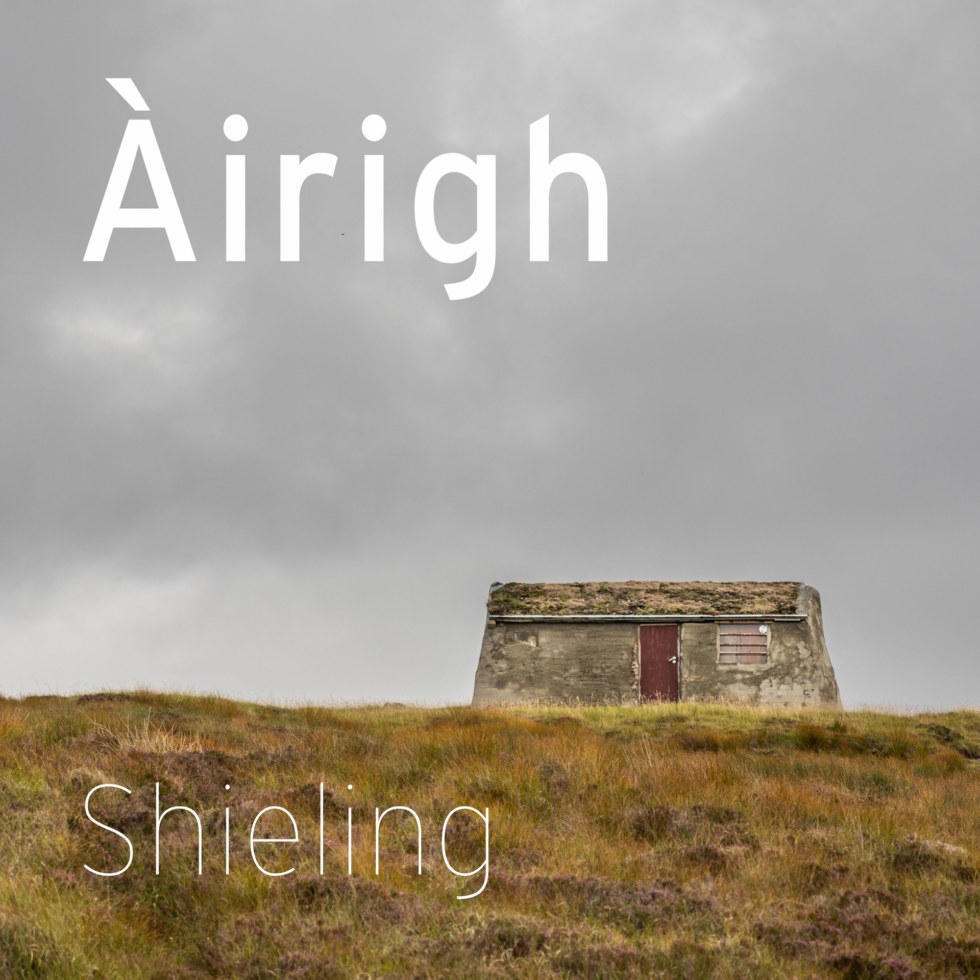 airigh moorland sheiling