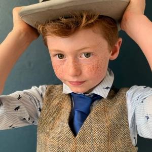littleladiesandlords fashion Harris Tweed® waistcoat